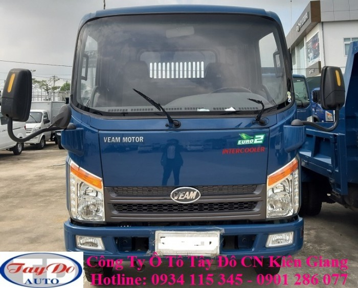 Xe ben Veam VB350 3.5 tấn – 3 tấn 5 – 3.5T – 3T5 | bán xe ben veam trả góp 3.5 tấn | thủ tục đơn giản 4