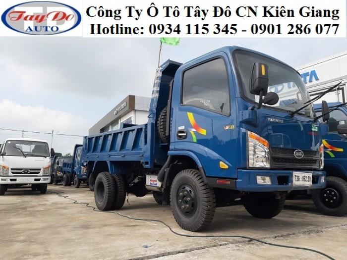 Xe ben Veam VB350 3.5 tấn – 3 tấn 5 – 3.5T – 3T5 | bán xe ben veam trả góp 3.5 tấn | thủ tục đơn giản 3