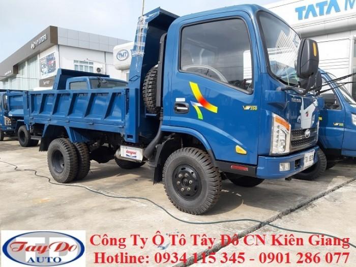 Xe ben Veam VB350 3.5 tấn – 3 tấn 5 – 3.5T – 3T5 | bán xe ben veam trả góp 3.5 tấn | thủ tục đơn giản 5