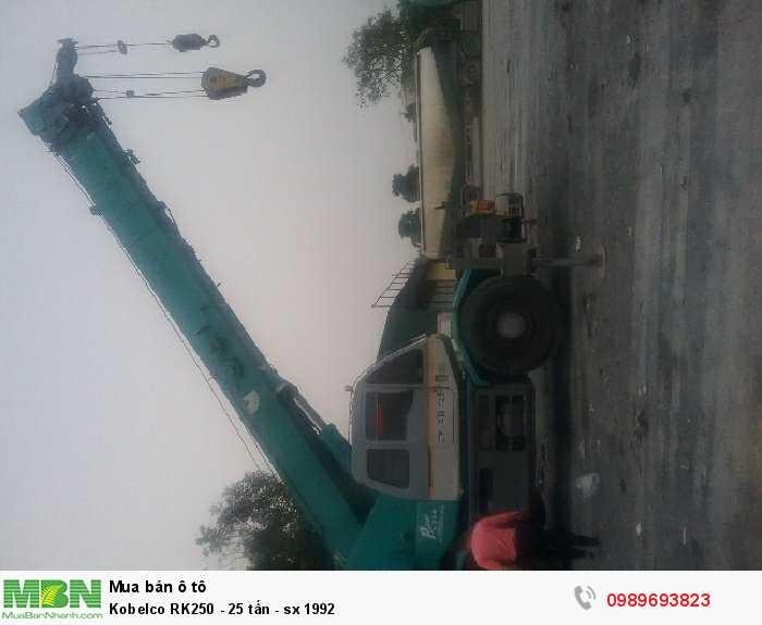 Kobelco  RK250 -  25 tấn - sx 1992