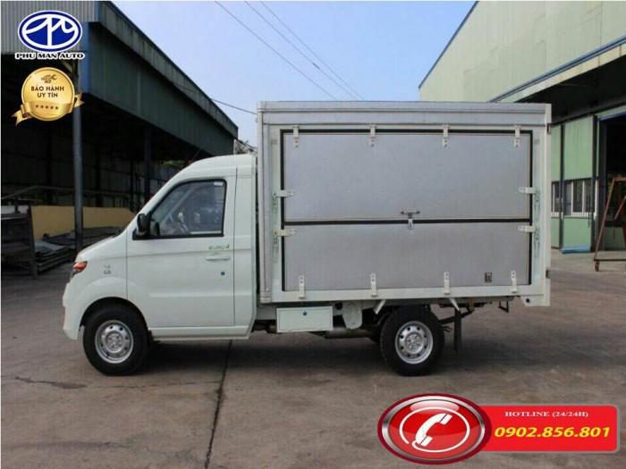 Xe tải kenbo/ xe tai kenbo/ kenbo 990kg/ thùng tải cánh dơi. 4