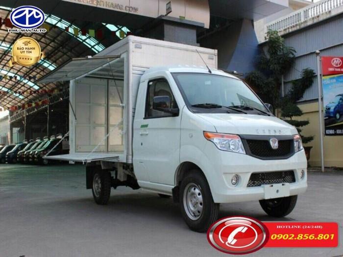 Xe tải kenbo/ xe tai kenbo/ kenbo 990kg/ thùng tải cánh dơi. 2