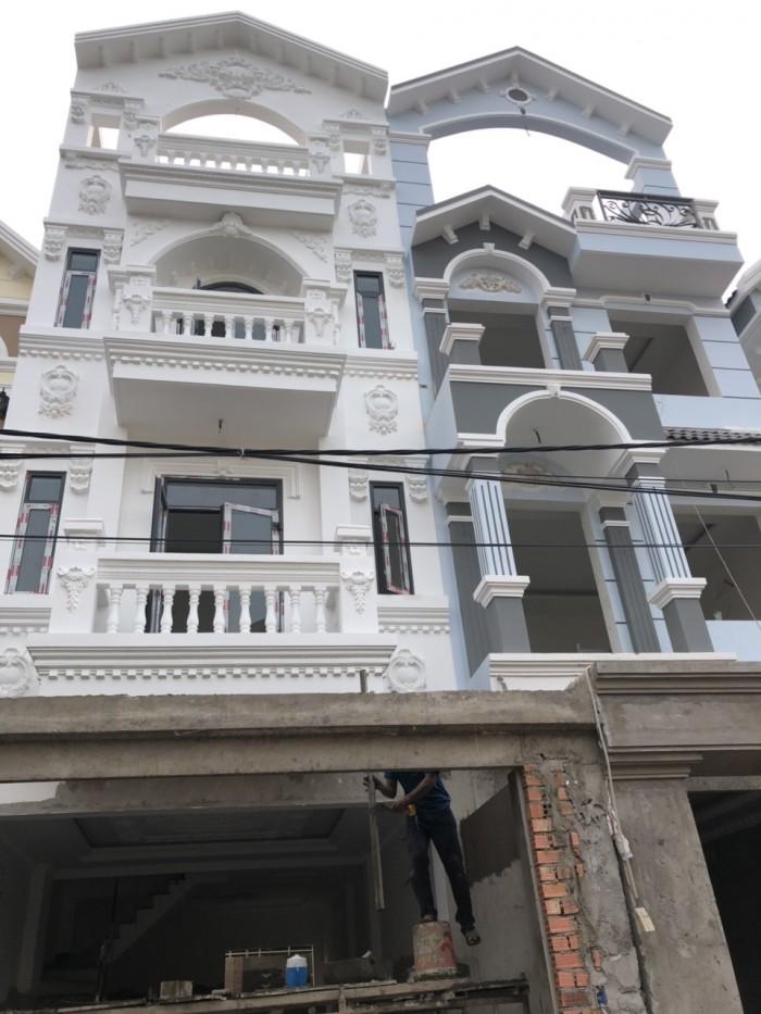 Nhà phố cao cấp tại đường Đào Tông Nguyên Nhà Bè. Vị trí đẹp, đường nội bộ, sổ hồng riêng từng căn