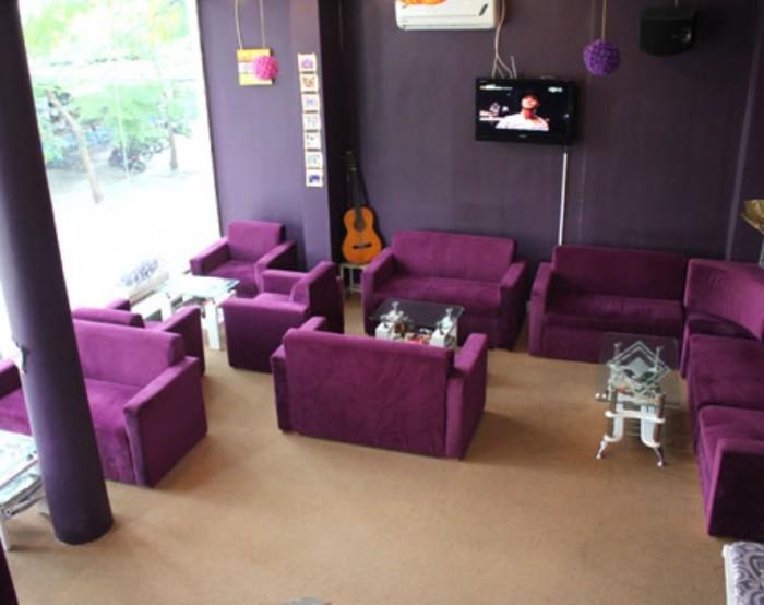 Bàn ghế nhựa đúc  quán cafe giá rẻ tại xưởng sản xuất HGH 00801