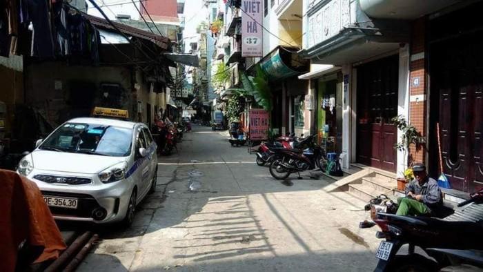 Nhà phân lô, mặt ngõ ô tô phố Hồng Hà, Hoàn Kiếm 58m2, 5 tầng,MT4m