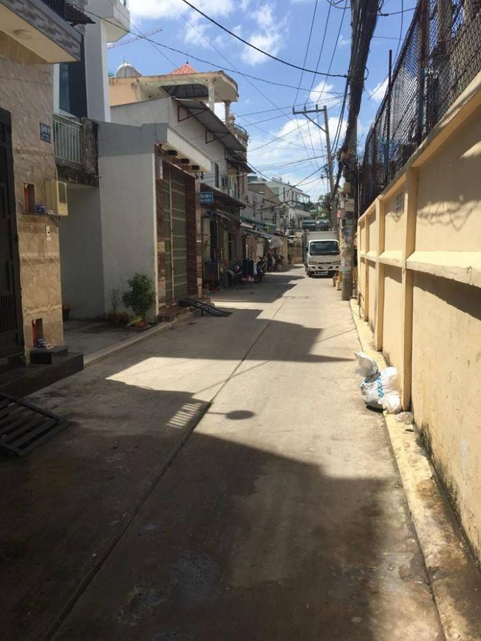 Nhà hẻm xe hơi Trịnh Đình Thảo 8x18m