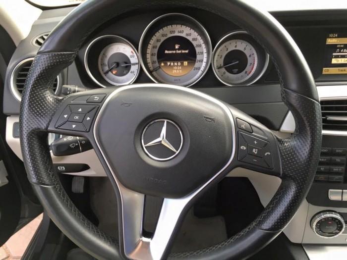 Bán xe Mercedes C200 2012 màu xám số tự động tên tư nhân biển TP
