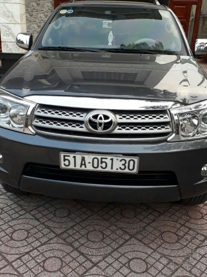 Bán Toyota Fortuner TRD Sprotivo AT 4WD
