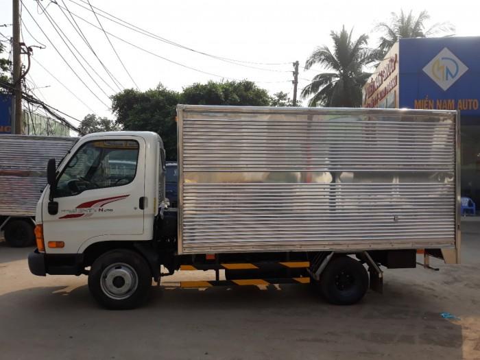 Hyundai 2.5 Tấn Thùng Kín Inox 5