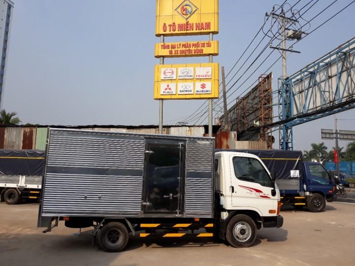 Hyundai 2.5 Tấn Thùng Kín Inox 4