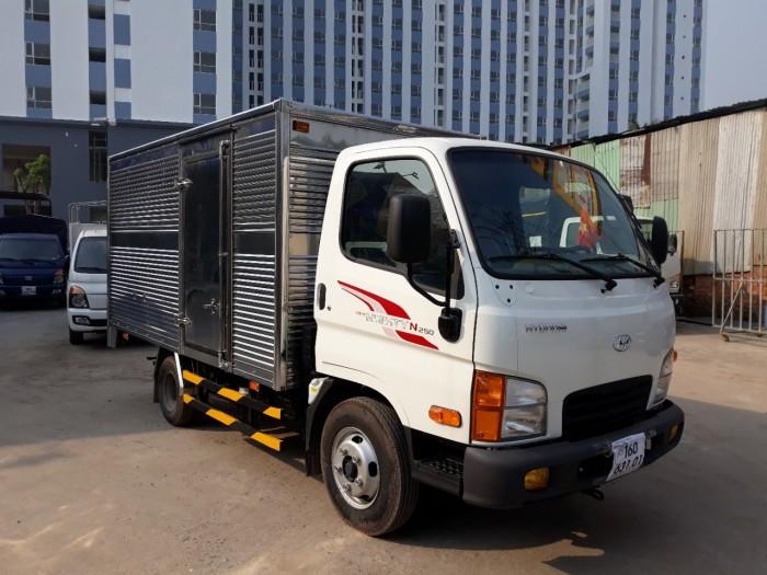 Hyundai 2.5 Tấn Thùng Kín Inox 0