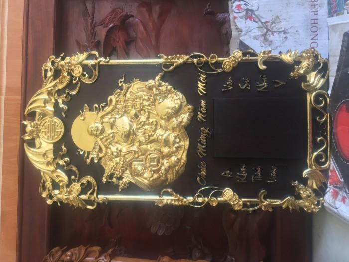 Đốc lịch thần tài thiếp vàng Kt: 68-38-31