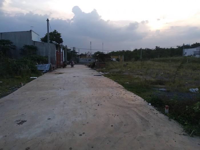 Đất 100m2, ấp tân cang, gần khu du lịch vườn xoài