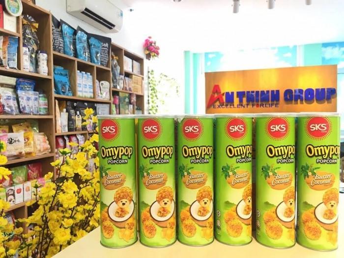 Bắp rang bơ Malaysia và trái cây sấy dẻo Thái Lan3