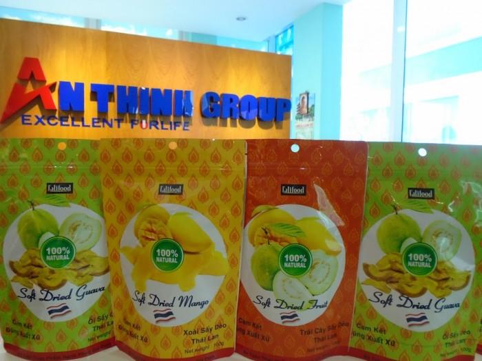 Bắp rang bơ Malaysia và trái cây sấy dẻo Thái Lan1