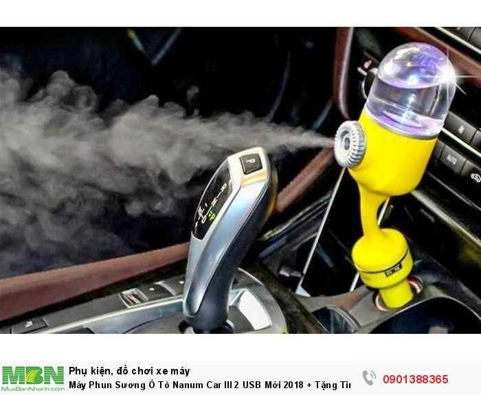 Máy khuếch tán tinh dầu xe hơi Nanum car III.
