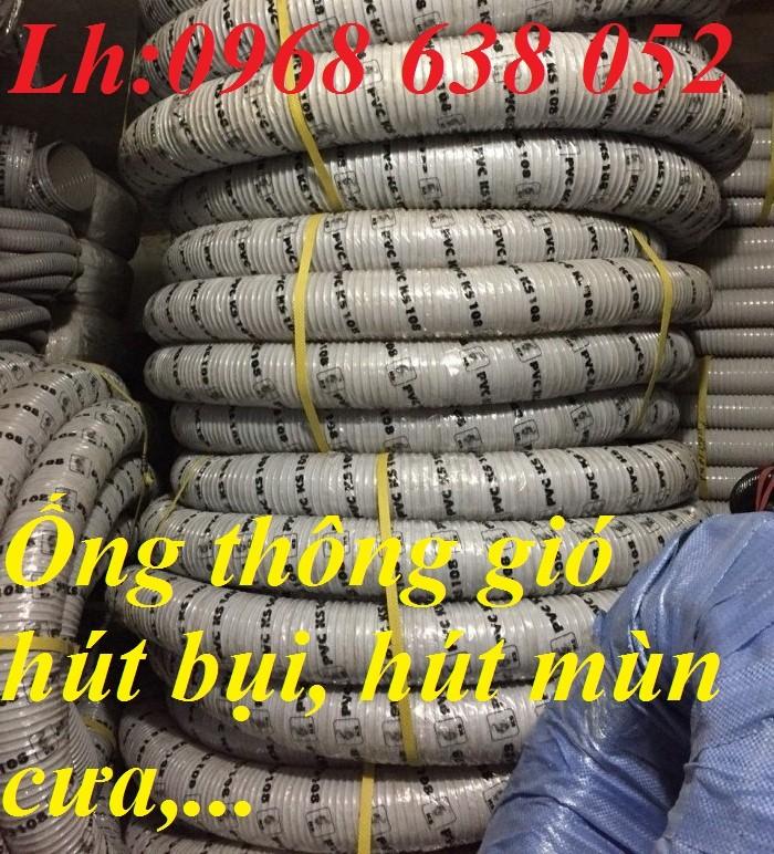 Ống hút bụi gân nhựa D40, D50, D60, D100, D114, D120, D150, D168, D200, D250, D300 hàng cao cấp14
