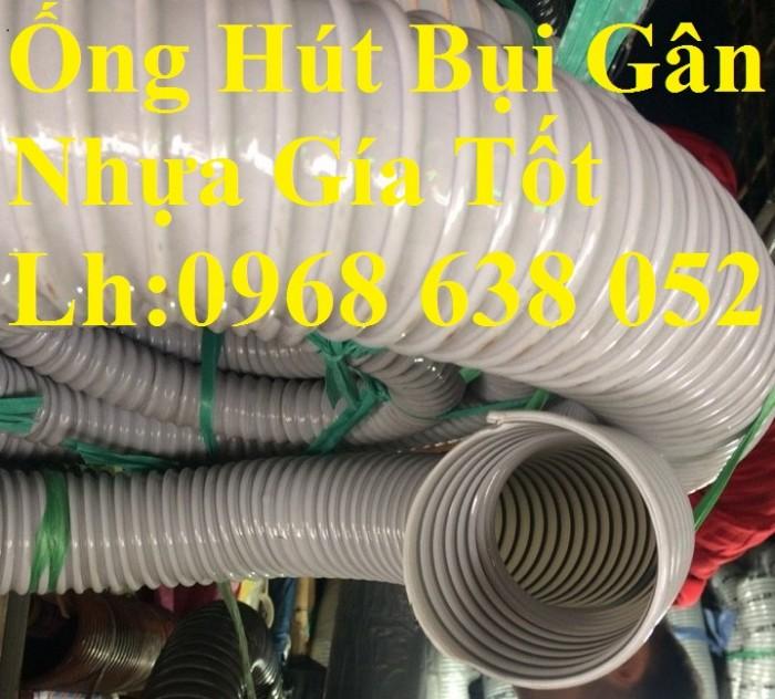 Ống hút bụi gân nhựa D40, D50, D60, D100, D114, D120, D150, D168, D200, D250, D300 hàng cao cấp12