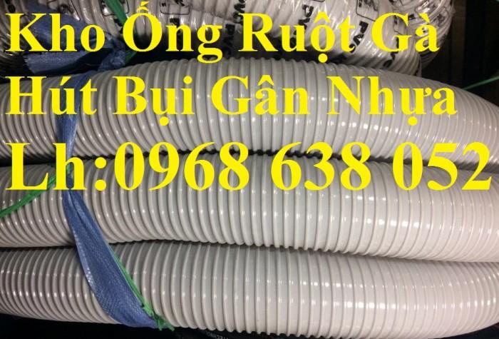 Ống hút bụi gân nhựa D40, D50, D60, D100, D114, D120, D150, D168, D200, D250, D300 hàng cao cấp10