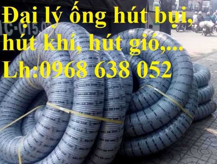 Ống hút bụi gân nhựa D40, D50, D60, D100, D114, D120, D150, D168, D200, D250, D300 hàng cao cấp5