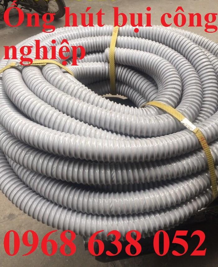 Ống hút bụi gân nhựa D40, D50, D60, D100, D114, D120, D150, D168, D200, D250, D300 hàng cao cấp1