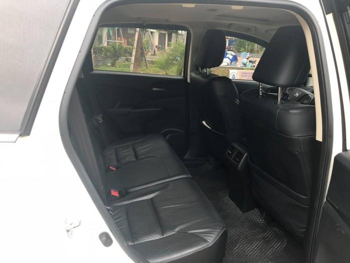 Gia đình cần bán Crv 2015 Full option bảng 2.4, màu trắng tinh ngọc trinh