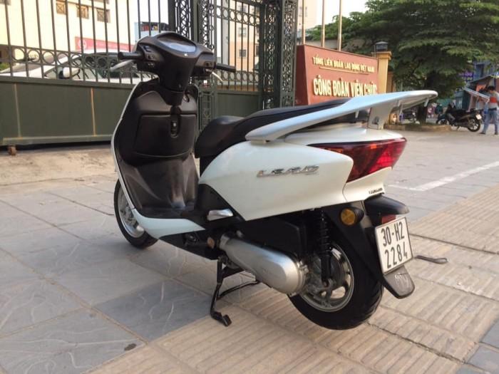 Honda Lead 110 Fi màu trắng biển Hà nội nguyên bản