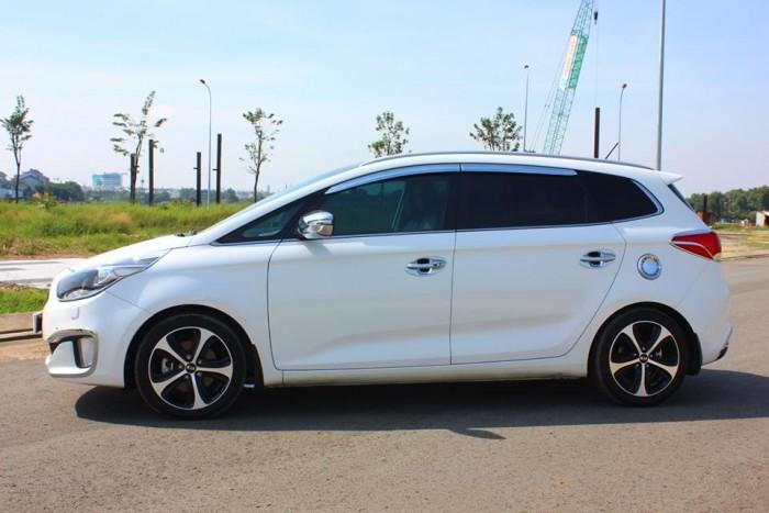 Bán Kia Rondo 2016 GAT màu trắng xe đẹp nguyên thủy . 9