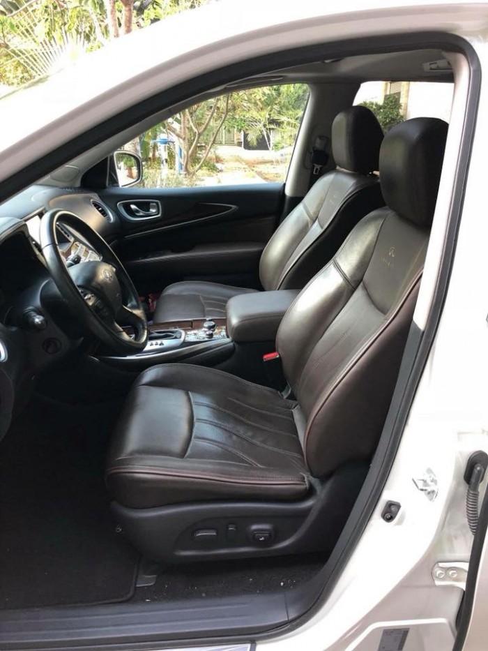 Gia đình cần bán xe Infiniti qx60 đăng ký 2015, số tự động, bản full option màu trắng