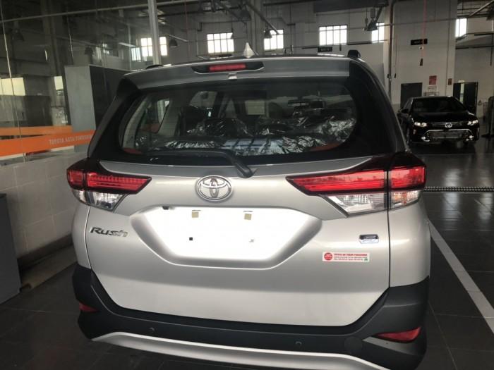 Toyota Rush 1.5s 7 Chõ Màu Bạc Giao Ngay 1