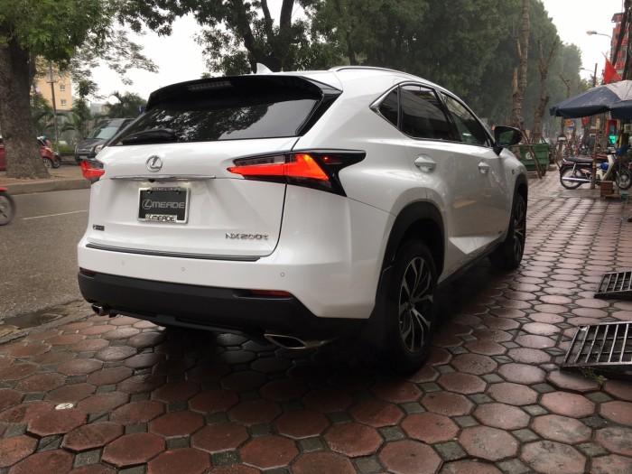 Bán Lexus NX200t Fsport trắng đỏ 2016 nhập Mỹ