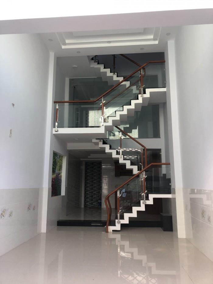 Bán nhà 1 trệt,1 lửng , 2 lầu , đường TX25, Q12, Dt ; 4m x 14m