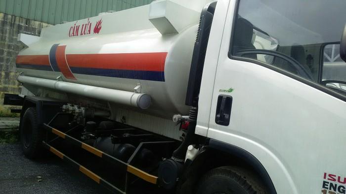 Xe Téc Isuzu chở dầu 11 khối giá rẻ tại Hà Đông giao ngay tại Thắng Lợi Auto