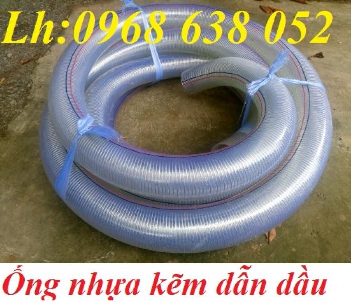 Ống PVC lõi thép(kẽm) hút hóa chất D20, D25, D27, D32, D34, D38, D40, D42, D48, D50, D60, D76, D9016
