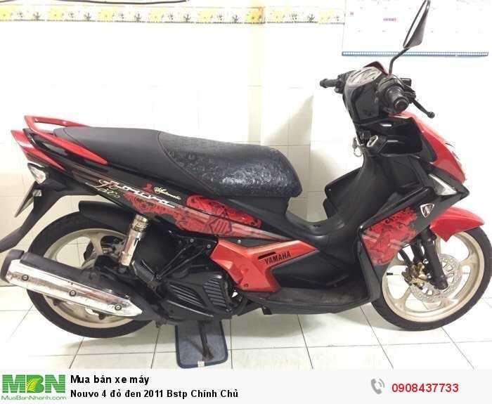 Nouvo 4 đỏ đen 2011 Bstp Chính Chủ