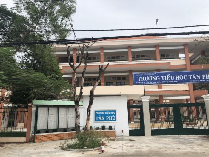 Bán 2 nền 110m2 cạnh trường Tiểu Học Tân Phú, xã TPT, Củ Chi