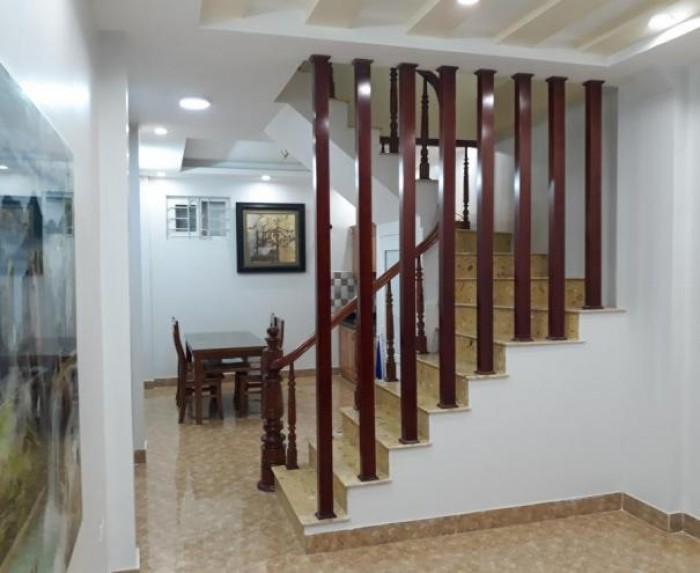 Nhà 5 tầng đẹp ngõ rộng thoáng Đội Cấn