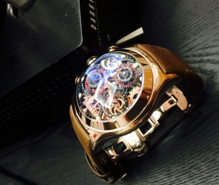 Đồng hồ nam REEF TIGER RGA792 kính lồi cong