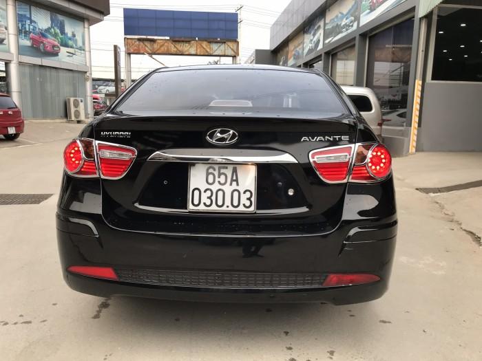 Bán Hyundai Avante 1.6MT màu đen VIP số sàn sản xuất 2013 biển tỉnh chạy 58000km 6