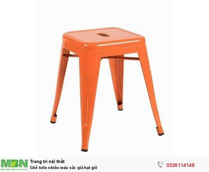 Ghế tolix nhiều màu sắc giá hạt giẻ0