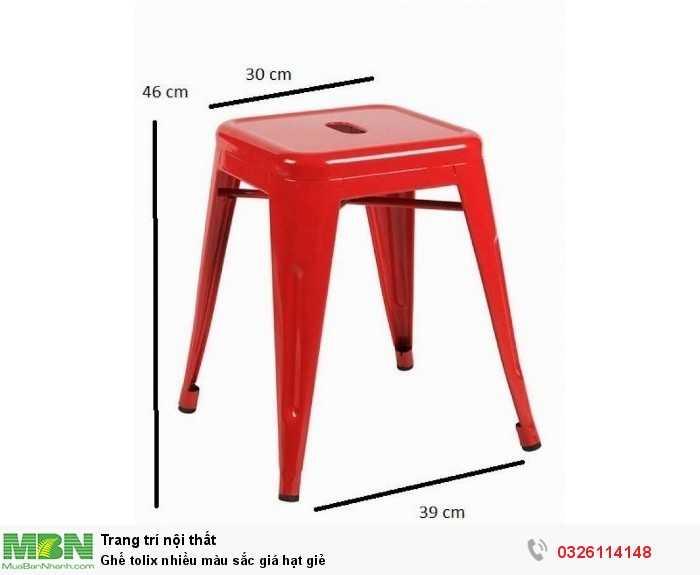 Ghế tolix nhiều màu sắc giá hạt giẻ2
