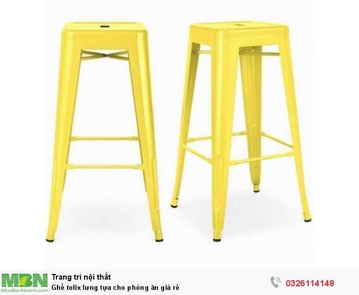 Ghế tolix lưng tựa cho phòng ăn giá rẻ1