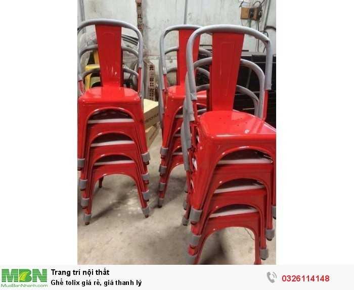 Ghế tolix giá rẻ, giá thanh lý2