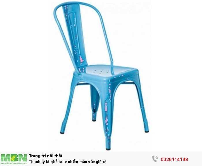Thanh lý lô ghế tolix nhiều màu sắc giá rẻ1