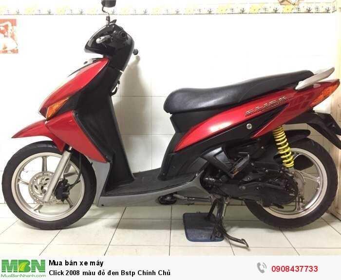 Click 2008 màu đỏ đen Bstp Chính Chủ