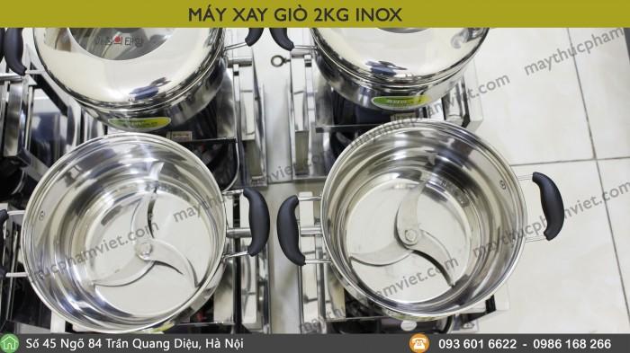 Máy Xay Giò 2Kg Inox Giá Rẻ6