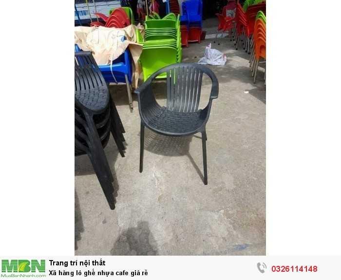 Xã hàng lô ghế nhựa cafe giá rẻ2