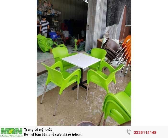 Đơn vị bán bàn ghế cafe giá rẻ tphcm0