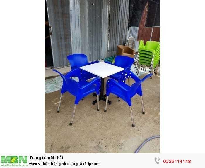 Đơn vị bán bàn ghế cafe giá rẻ tphcm1