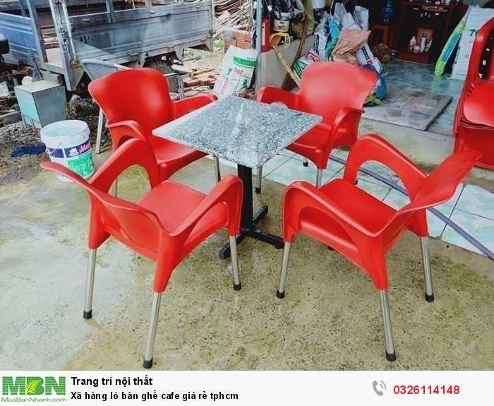Xã hàng lô bàn ghế cafe giá rẻ tphcm0